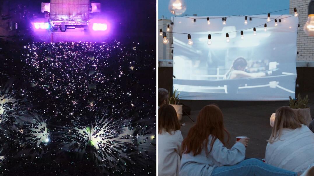 Czy Polacy tęsknią za kinem i koncertami?