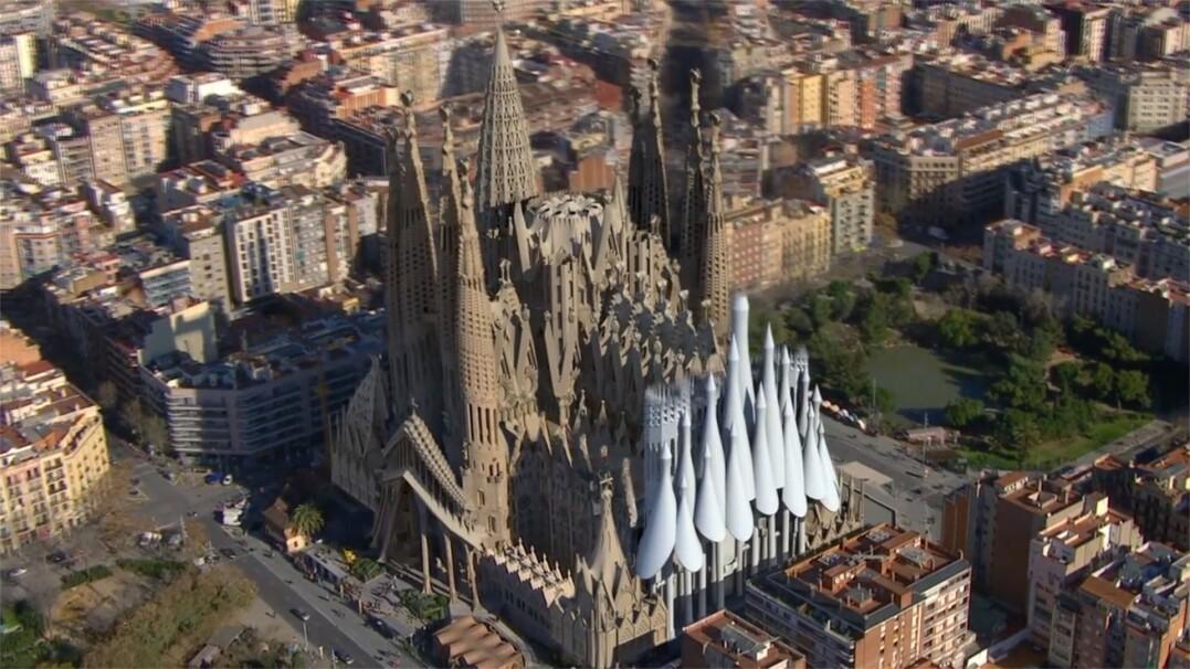 Tak będzie wyglądać skończona Sagrada Familia. Zobacz wizualizację