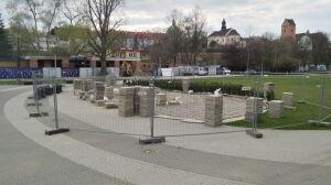 Piaskarka uszkodziła multimedialne fontanny. Remont kosztuje 180 tys. zł