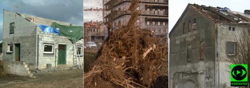 """""""Poszli na strych i mówią: mamo, niebo widać"""". Wiatr zrywał dachy i wyrywał drzewa"""