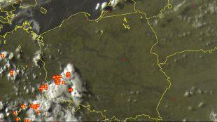 Burze zaczynają psuć popołudnie. Grzmi w Polsce południowo-zachodniej