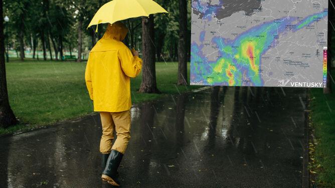 Pogoda na 5 dni: najpierw upał i gwałtowne burze, później deszczowa zapowiedź jesieni