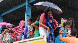 Filipiny przed nadejściem tajfunu (PAP/EPA)