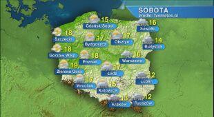 Prognoza pogody na sobotę 30.05