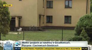 Zalania w Pszczynie (TVN24)